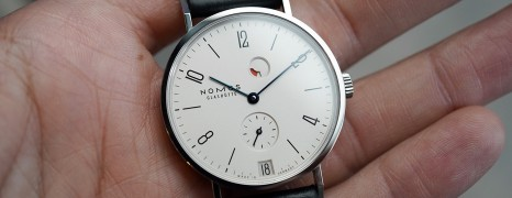 Nomos Tangente Date Power Reserve 35 mm