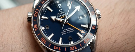 Omega Seamaster Planet Ocean 600m GMT GoodPlanet Edition 43.5 mm NIB
