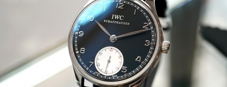 IWC Portuguese Hand-Wound Black Dial 44 mm Ref.IW545404