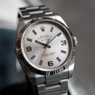 Rolex Oyster Perpetual Air-King Silver Dial 34 mm Ref.114234