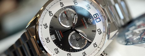 Tag Heuer Carrera Automatic Calibre 36 Flyback Grey Dial 43 mm