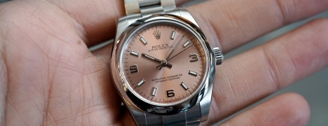 Rolex Oyster Perpetual Lady Champagne Dial 31 mm Ref.177200