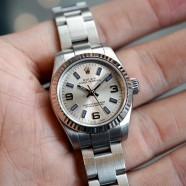 Rolex Oyster Perpetual Air-King Silver Dial 26 mm Ref.176234