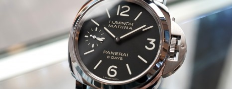 Panerai 510 Luminor Marina 8 Days Acciaio 8 44 mm S.R