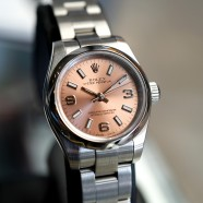 Rolex Oyster Perpetual Lady Champagne 369 Dial 26 mm Ref.176200