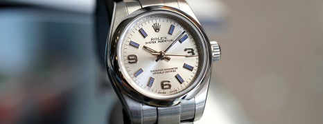 Rolex Oyster Perpetual Lady Silver 369 Dial 26 mm Ref.176200