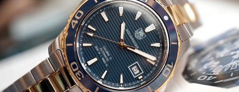Tag Heuer Aquaracer 500M 2K Automatic Calibre 5 Navy Blue Ceramic 41 mm