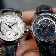 Frederique Constant Worldtimer 42 mm Blue and White Dial
