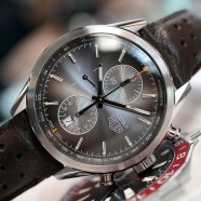 "Tag Heuer Carrera Calibre 1887 Brown Dial ""300 SLR Limited Edition"" 41 mm"