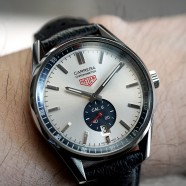 Tag Heuer Carrera Calibre 6 Silver Dial 39 mm