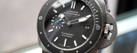 Panerai 1389 Luminor Submersible 1950 Amagnetic 3 Days Titanio 47 mm