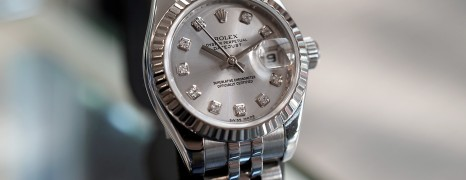 Rolex Datejust Lady Jubilee Silver Dial Diamond 26 mm Ref.179174 Series Z
