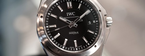 IWC Ingenieur IW323902 Automatic Black Dial 40 mm Ref.IW323902