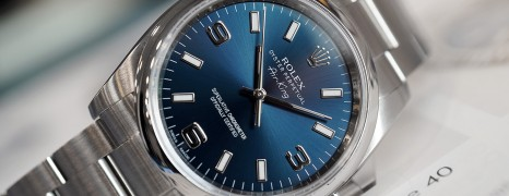 Rolex Oyster Perpetual Air-King Blue Dial 34 mm Ref.114200 Series G