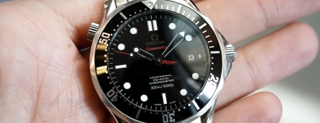 Omega Seamaster Diver 300M Co-Axial James Bond 007 Limited Edition 41 mm Ref. 212.30.41.20.01.001
