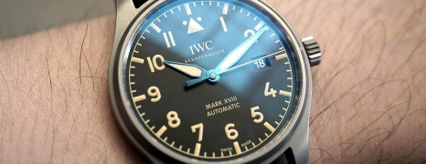 IWC Pilot's Watch Mark XVIII Heritage Titanium 40 mm Ref.IW327006