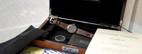 Panerai 721 Radiomir 3 Days Acciaio 47 mm S.T 2018 (NEW)