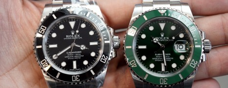 Rolex Submariner No Date Ceramic and Green Ceramic