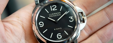 Panerai 560 Luminor Marina 8 Days Acciaio 44 mm S.T (01/2019)