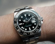 Rolex GMT-Master II Black Ceramic Green Hand 40 mm REF.116710LN (05/2017)