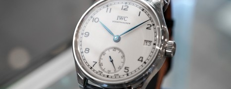 "IWC Portugieser Hand-Wound Eight Days Edition ""150 Years"" 43.2 mm Ref.IW510212 (NIB 10/2018)"