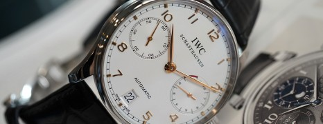 IWC Portuguese 7 Days Power Reserve Automatic White Dial 42 mm Ref.IW500114