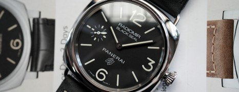 Panerai 754 Radiomir Black Seal Logo 45 mm S.U 01/2019