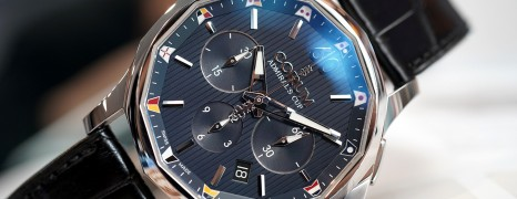 Corum Admiral's Cup Legend Chronograph Blue Dial 42 mm