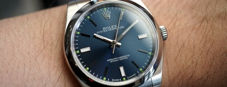 Rolex Oyster Perpetual Blue Dial 39 mm REF.114300 (NEW)