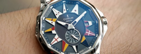 Corum Admiral's Cup Legend Blue Dial 42 mm