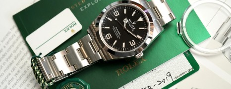 Rolex Explorer I 39 mm Ref.214270 (New 02/2019)