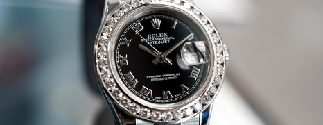 Rolex Datejust Lady Black Roman Dial 26 mm Ref.179160