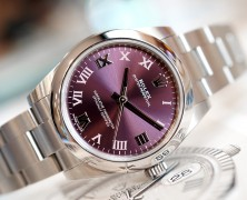 Rolex Oyster Perpetual Red Grape Dial 31 mm Ref.177200