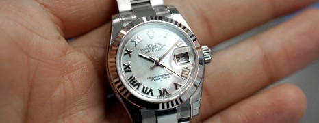 Rolex Datejust Lady White MOP Dial 26 mm Ref.179174 (NOS 2016)