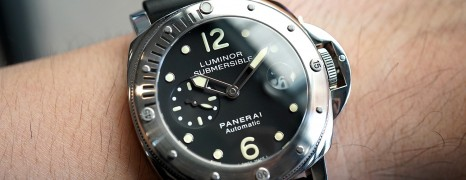 Panerai 24 Luminor Submersible Automatic 44 mm S.R
