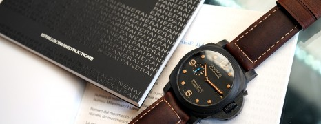 Panerai 661 PAM661 Luminor Marina 1950 Carbotech 3 Days Automatic 44 mm S.S