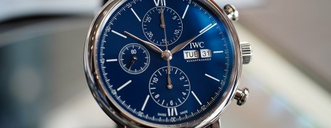 "IWC Portofino Chronograph Edition ""150 Years"" Blue Dial 42 mm Ref. IW391023"