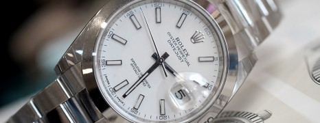 Rolex Datejust 41 White Dial 41 mm Ref.126300 (NEW 03/2019)