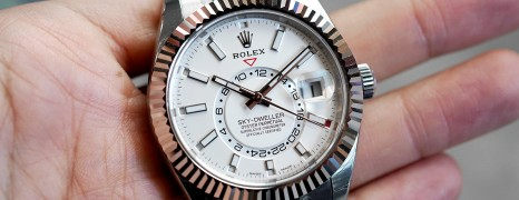 Rolex Sky-Dweller White Dial 42 mm Ref.326934 (12/2017)
