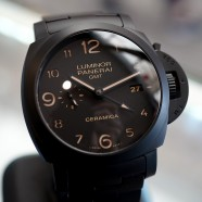 Panerai 438 Pam 438 TUTTONERO Luminor 1950 3 Days GMT Caramica 44 mm