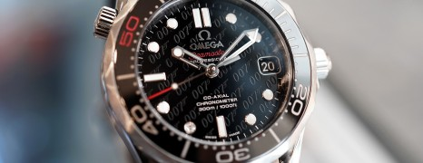 "Omega Seamaster Diver 300M Co-Axial ""James Bond 50th anniversary"" Limited Edition 36.25 mm"