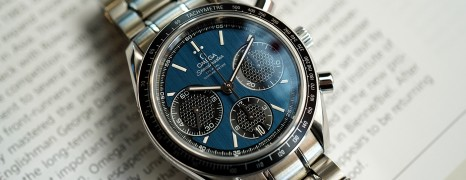 Omega Speedmaster Racing Co-Axial Automatic Chronograph Blue Dial 40 mm