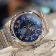 Rolex Oyster Perpetual Air-King Blue-Orange Dial 34 mm Ref.114200