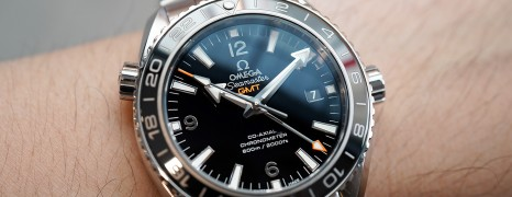 Omega Seamaster Planet Ocean 600M Co-Axial GMT Black Ceramic 43.5 mm