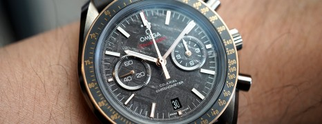 Omega Speedmaster Moonwatch Grey Side of the Moon Meteorite Dial 44.25 mm