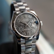 Rolex Datejust Lady Grey Floral Dial 31 mm Ref.178240 (New Thai AD 05/2019)