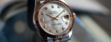 Rolex Datejust Everose Rolesor MOP Diamond 31 mm REF.178271