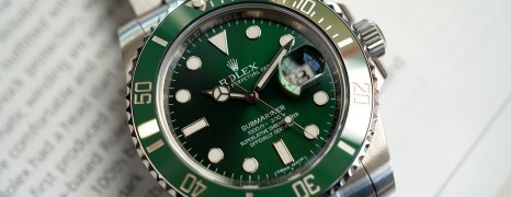 Rolex Submariner Date Green Ceramic 116610LV 40 mm (The Hulk) 10/2015