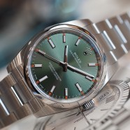 Rolex Oyster Perpetual Olive Green Dial 34 mm REF.114200 (NIB 05/2019)