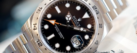 Rolex Explorer II Orange Hand Black Dial 42 mm Ref.216570